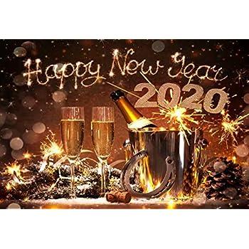 Amazon.com : Yeele 6x4ft Happy New Year 2020 Backdrop 2020 ...