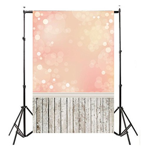 Wensltd Clearance! Vinyl Wood Wall Floor Photography Studio Prop Backdrop Background 3x5FT (D-2)