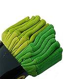 SEUROINT 6 Pairs Pack 100% Cotton Gloves, Soft Garden Gloves, PVC Dots Cotton Work Gloves Sure-Grip Breathable Gardening Gloves