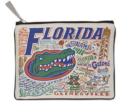 Catstudio University of Florida Zip Pouch | Use as Wallet, Clutch, Handbag or Makeup ()