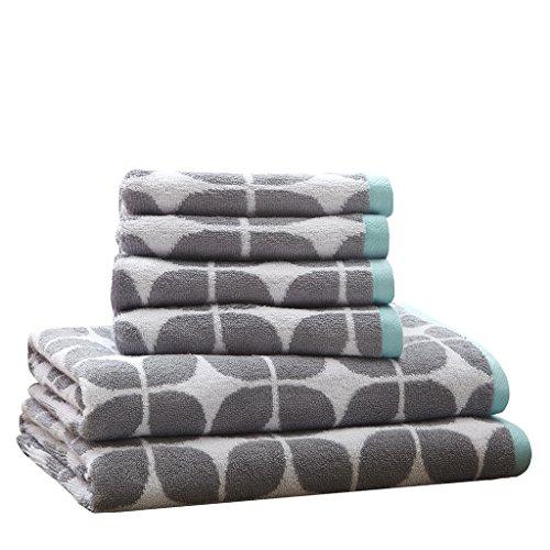 """28""""x54"""" Bath Towels Sets Gray"""