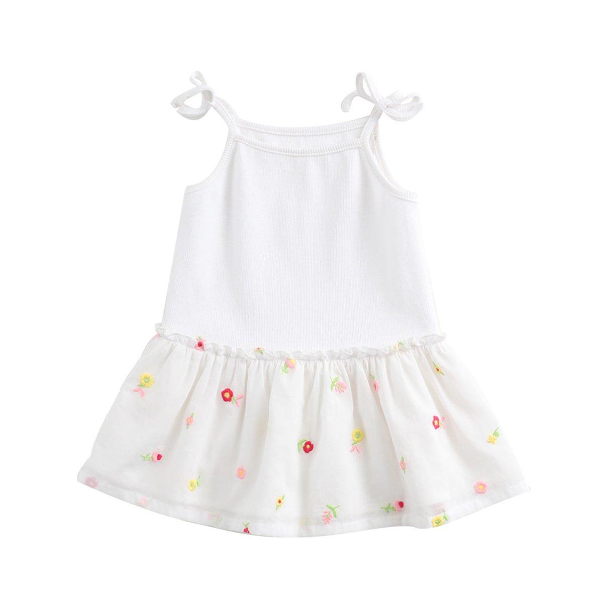 超美品の marc janie DRESS ホワイト ベビーガールズ DRESS 5T (110 cm) marc ホワイト B07FNV8V4J, 手ぬぐい 染の安坊:7aa3a78b --- leadjob.us