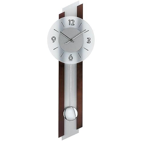 AMS Clásica – Reloj de péndulo Diseño con Modernos Elementos; Pared Cuarzo Reloj con péndulo
