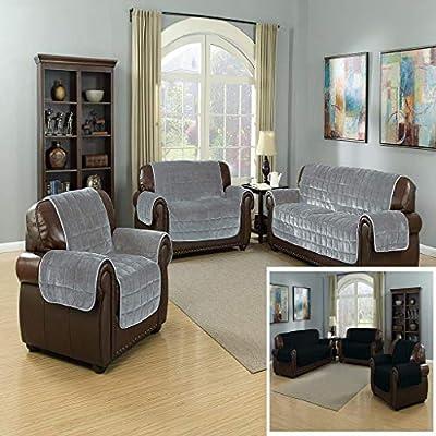 Stupendous Amazon Com Quick Fit The Original Flannel Reversible Forskolin Free Trial Chair Design Images Forskolin Free Trialorg