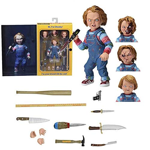 CartUp | Movie – Child's Play – Chucky Action Figure – Collectable Model Toy – 10cm for $<!--$35.97-->