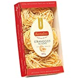 Bartolini Strangozzi Bronze Dyed Durum Wheat Egg Pasta, 17.6 oz (Pack of 2)