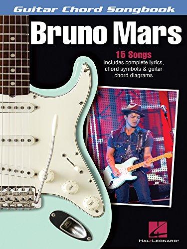 Bruno Mars - Guitar Chord Songbook: Lyrics/Chord Symbols/Guitar Chord Diagrams (Guitar Chord -