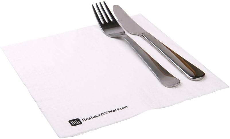 Restaurantware Servilletas de papel Micropoint, 3 capas, negro, paquete de 50: Amazon.es: Hogar