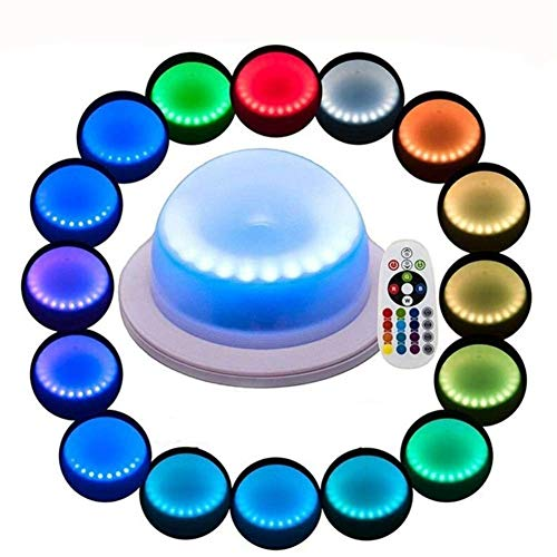 LACGO 18 LEDs 16 Color Options Remote Control
