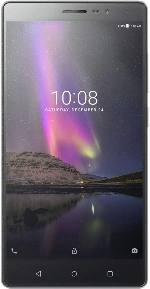 "Lenovo Phab 2 Pro 64GB 6.4"" 4G LTE Unlocked, Gunmetal Gray (Renewed)"