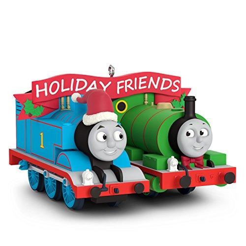 (Hallmark Keepsake Christmas Ornament 2018 Year Dated, Thomas and Friends Thomas and Percy)