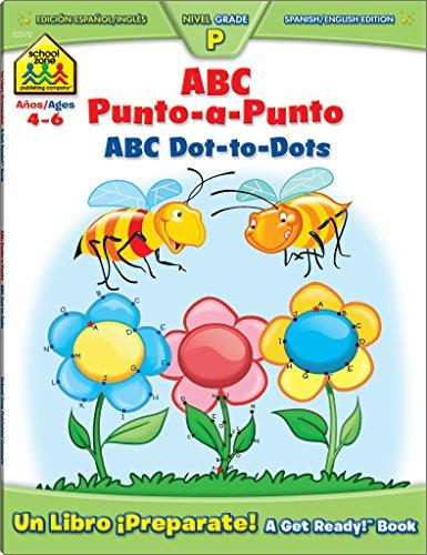 ABC Dot-to-Dot Bilingual (Spanish Edition) [Joan Hoffman] (Tapa Blanda)