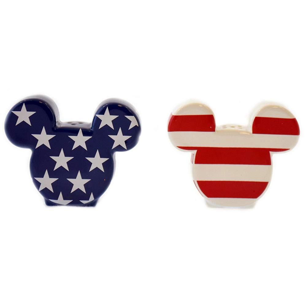 Disney Salt And Pepper Shaker Set Americana Mickey