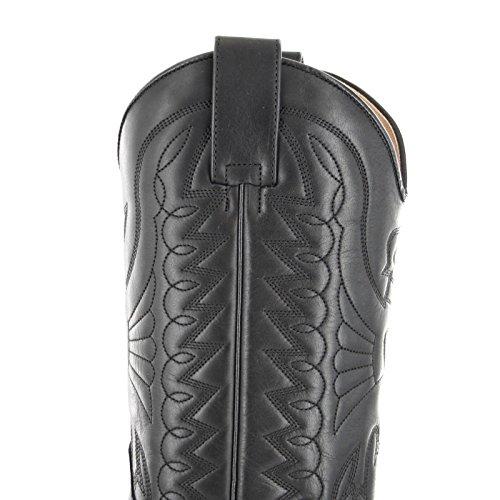 mixte adulte cowboy Noir Mayura Boots bottines et 1920 Bottes wBxqY0