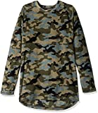 fruit of the loom base layer - Fruit of the Loom Men's Premium Stretch Fleece Baselayer Top, Urban Camo, Large
