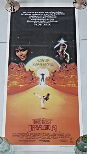 The LAST DRAGON Australian Insert Movie Poster 14