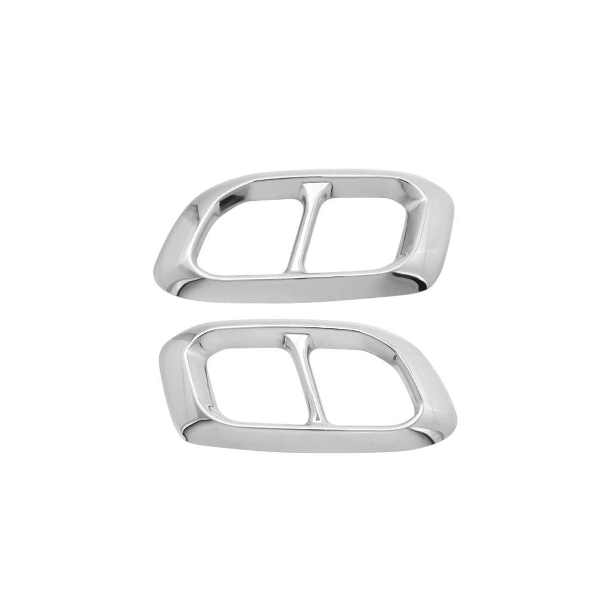 Yiwang accessorio esterno per Benz GLE GLC GLS W167 X253 X167 2019 2020 accessori auto copertura per tubo di scappamento in acciaio inox
