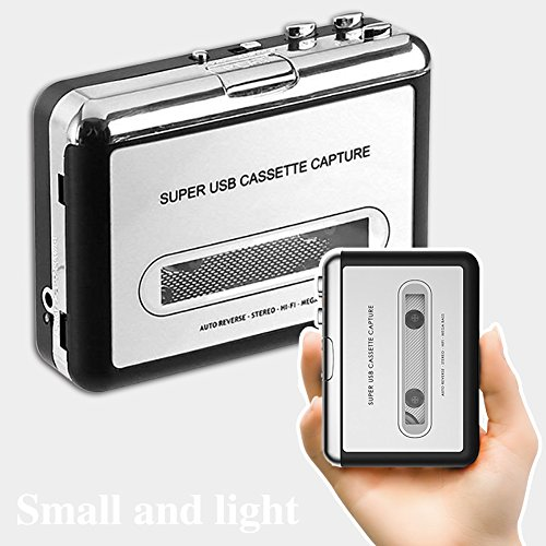 Updated Version ASINNO Cassette Player Portable Cassette Player to MP3