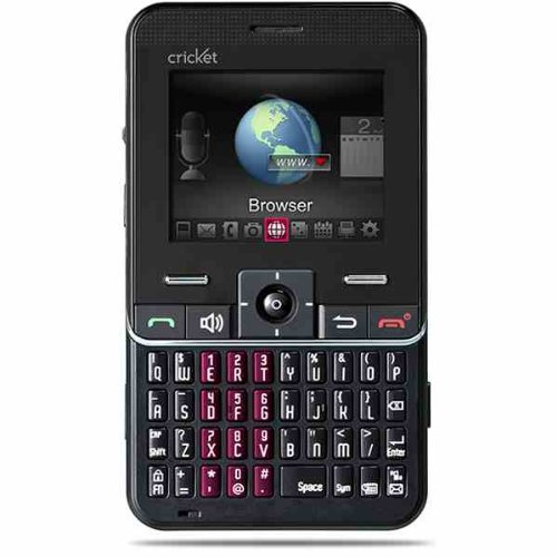 Cricket MSGM8 Pay As You Go Tri-Band Cell (Black Triband Unlocked Phone)