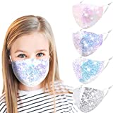 Washable Kids Face Mask, Cute Reusable Adjustable