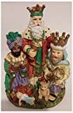 1995 International Santa Claus Collection ''The Three Magi'' Spain Figurine