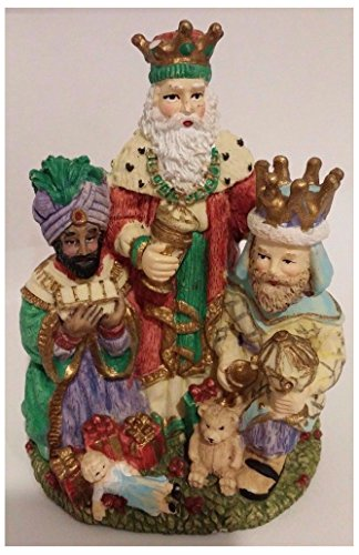 1995 International Santa Claus Collection ''The Three Magi'' Spain Figurine by Unknown