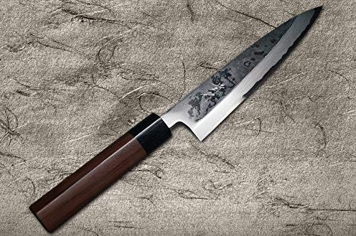 TAKAYUKI IWAI SHIROGAMI STEEL NO.1 FUMON SERIES FUNAYUKI JAPANESE CHEF KNIFE by Takayuki Iwai (Image #1)