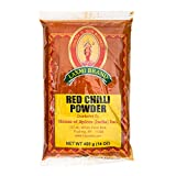 Laxmi Ground Red Chili Powder 14 oz., Traditional Indian Cooking Spices