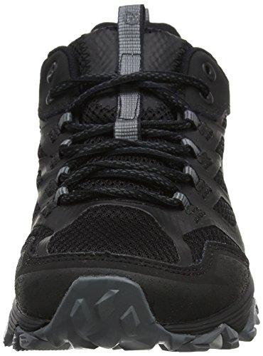 4 Noir Noir FST de GTX Homme Merrell Chaussures Moab Randonnée Basses 1FqatwZtx