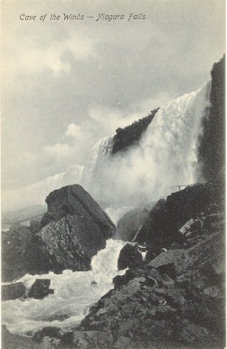1900 Vintage Postcard - Cave of the Winds - Niagara Falls New York (Cave Of The Winds Niagara Falls New York)