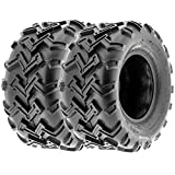 SunF ATV UTV Rear Tires 22x10-10 22x10x10 4 PLY A001 (Set Pair of 2)