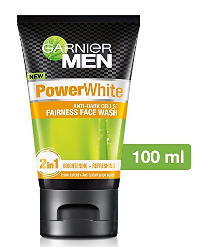 Garnier Men Power White Face Wash, 100g