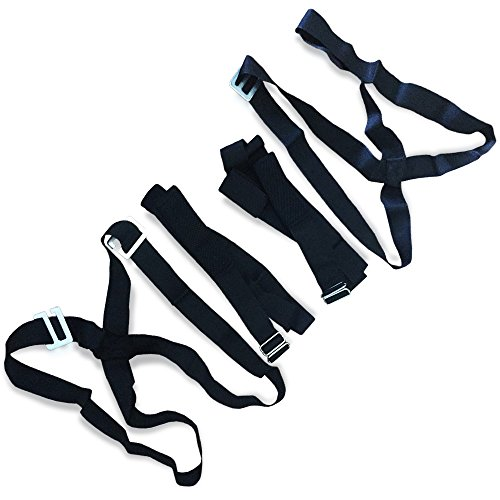 Professional Moving Straps Harnesses for 2 Movers | Moving Straps and Harness for Easily & Safely Lifting, Carrying, Moving Furniture and Appliances | 2 x Harnesses, 2 x Adjustable Straps (Appliances Moving)
