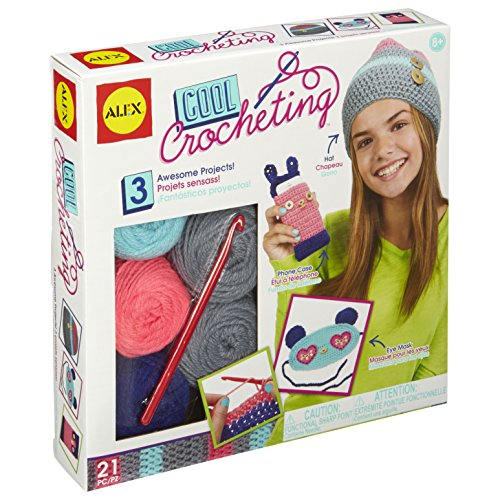 ALEX Toys Craft Cool Crocheting Kit (Crocheting Kit)