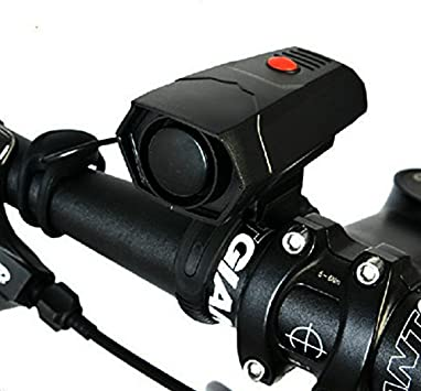 Bike Bicycle Bell Horn Cycling Electronic Loud Handlebar Ring Battery Alarm NEW