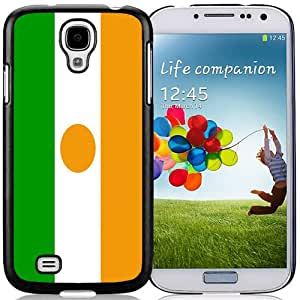 Beautiful Unique Designed Cover Case For Samsung Galaxy S4 I9500 i337 M919 i545 r970 l720 With Niger Flag Black Phone Case