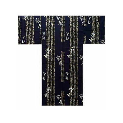 Authentico Giapponses Yukata 889 Modelo Navy Hideyoshi Kimono zfxw8