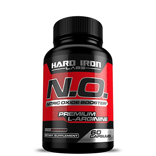 Nitric Oxide Supplement - 1200mg Nitric Oxide Booster - L Arginine & L Citrulline for Muscle Building, Vascularity, Pumps, Energy, & Heart Health - Increase Blood Flow - NO Booster Pre Workout