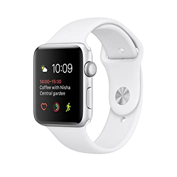 Apple Watch Series 1 Reloj Inteligente Plata OLED: Amazon.es ...
