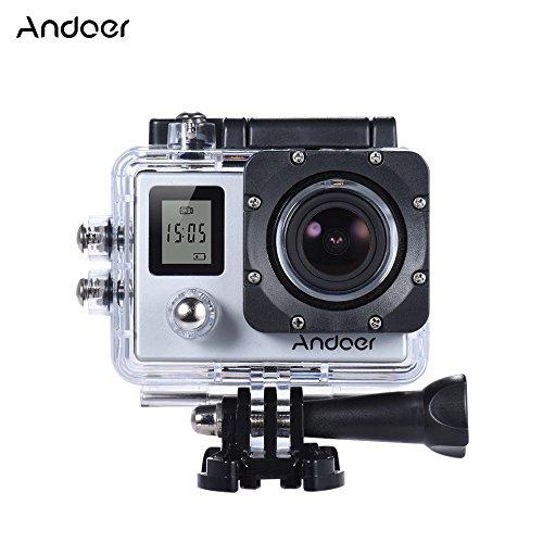 Andoer 4K 30fps/1080P 60fps Full HD 16MP Action Camera