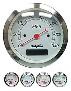 dolphin gauges 5 gauge programmable set. Black Bedroom Furniture Sets. Home Design Ideas