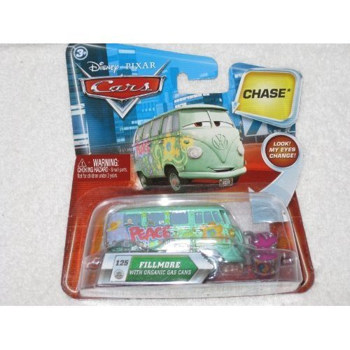 Series Organic (Disney / Pixar CARS Movie 155 Die Cast Car with Lenticular Eyes Series 2 Fillmore with Organic Gas Cans Chase Piece!)