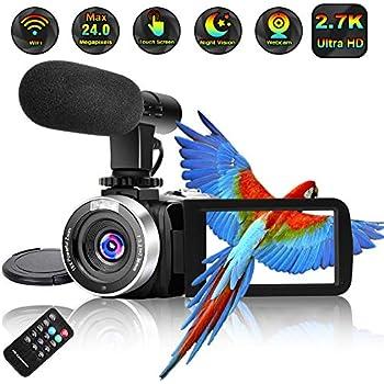Amazon com : Camcorder Video Camera Full HD 1080P 30FPS 24MP