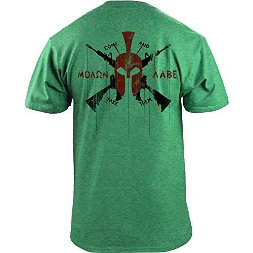 Classic Molon Modern Spartan T Shirt