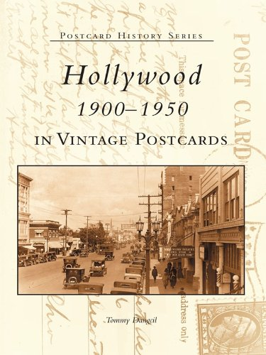 1950 Postcard - Hollywood 1900-1950 in Vintage Postcards (Postcard History)