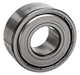 MRC 5310MFF Angular Contact Ball Bearing, Double Row, Double Shield, 30 Degree Angle contact, 50 mm Bore, 110 mm OD, Silver
