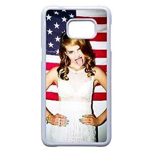 Samsung Galaxy Note 5 Edge Case,Custom Cell Phone Case for Samsung Galaxy Note 5 Edge [White] Lana Del Rey [Theme] DF3652