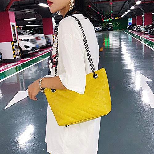 al Bolso mujer Sintética de hombro Widewing Amarillo Piel para TzxgSqgw4