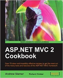 Asp.net Mvc 2 Cookbook Pdf