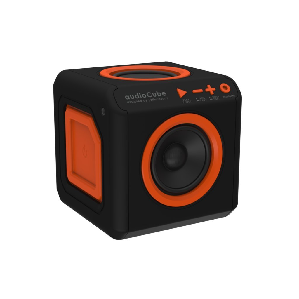 audioCube |Stationary| A 360° Experience Bluetooth Speaker,Great Bass, No Internal Battery, IEC and AUX Cable Included